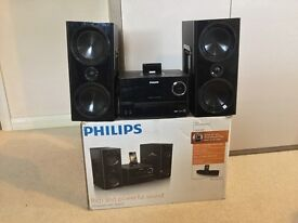 Phillips micro music systems x2