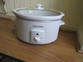 Salter slow cooker.