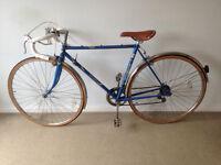 Vintage racing bike. Elswick Jetstream road racer.