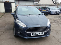 FORD FIESTA 1.0 ECOBOOST 2013. FREE ROAD TAX. ONLY 47 K MILES. FULL SERVICE HISTORY. CHEAPEST IN UK