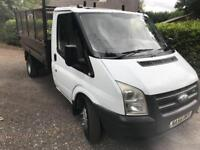 Ford transit T350 110bhp tipper truck very good condition
