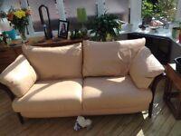Sofa 3 Seater Leather Natuzzi