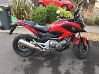 Honda NC700 670cc 2012 Motorbike