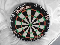 Winmau Profesional Dart Board only used once