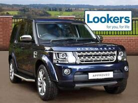 Land Rover Discovery SDV6 HSE (blue) 2015-03-14
