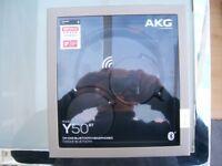 Headphones AKG by Harman mdoel Y50BT - bluetooth