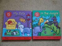Push - pull - turn and lift books for child x 2