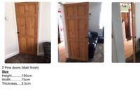 7 X Pine Doors £25 each