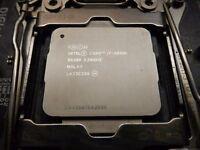 Intel i7 5930k cpu
