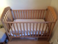 Mamas and Papas cot in very good condition