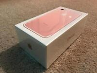 Apple iPhone 7 32Gb Rose Gold BRAND NEW SEALED