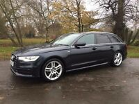 AUDI A6 AVANT S LINE MULTITRONIC MOONLIGHT BLUE METALIC