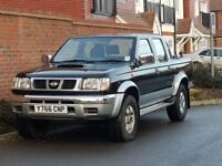 Nissan Navara Double Cab 2.5 TD (2001/Y Reg) + GENUINE 107K + 1 OWNER SINCE NEW + BLACK + D22+DIESEL
