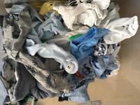 Bundle of baby boys clothes (newborn 0-3 3-6 6-9)