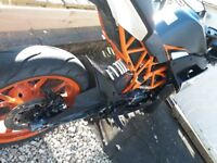 KTM RC125 2016 for sale.