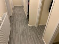 ✅ Grey Vinyl Flooring In The Picture Only £5.99 Sq meter