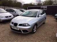 SEAT IBIZA 1.2 12v REFERENCE SPORT HATCH 3DR 2007*IDEAL FIRST CAR*CHEAP INSURANCE*EXCELLENT CONDITIO