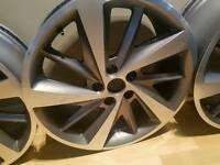 "Seat leon mk3 fr alloys 18"" 5x112"