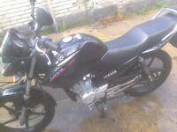 ybr 125cc, no mot, performance exhaust