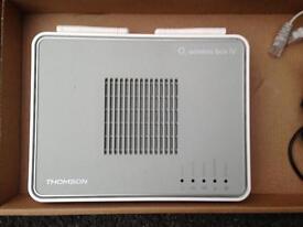 O2 wireless box IV - wifi broadband modem router