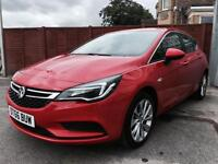 Vauxhall Astra 1.4 i 16v Turbo Tech Line Hatchback Auto 5dr (start/stop)£14,500 p/x welcome