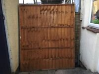 Fence panels x 4. All 6ft x5ft