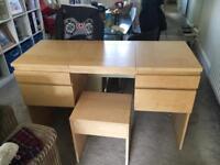 Ikea make up desk