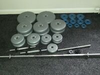 Barbell & dumbell ****SOLD****