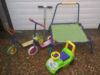 Outdoor Toys **Reduced** - £2.50 Each or Only **£8 The Lot**