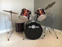 Acoustic Drum Kit Gears4Music