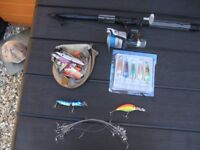 fishing rod & bits