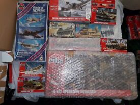 Airfix World War 2 Models for sale induvidually or in bulk, cheap prices