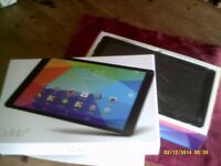 10in Tablet - Go Tab as New in box with Head phones and case