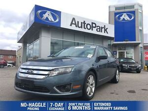 2012 Ford Fusion SEL/BLUETOOTH/LEATHER HEATED SEATS/CRUISE/ALLOY