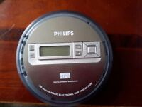 Philips portable mp3 CD player in excellent condition £14.99 or reasonable offer accepted