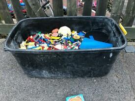 Mixed Tub Of Lego**UPTO 10KG**