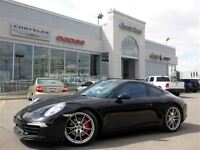 2012 Porsche 911 S MUST SEE! Manual Coupe Navigation Leather Sun
