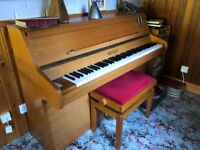 Free Bentley Concord upright piano 1980