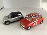 Mini Cooper Gift Set - 'Old & New' by LCD Enterprises (UK) & Welly Die-casting