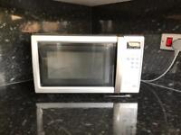 Sharp 800w Microwave in Silver