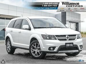 2016 Dodge Journey R/T Rallye**AWD**NAV**LTHR**7 PASS**DVD