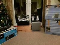 Sony AV amplifier and Celestion surround speakers