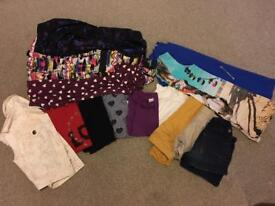 Bundle of girls clothes aged 8-9