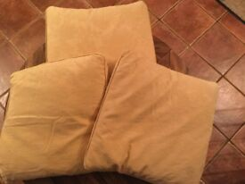 3 duck feather filled Laura Ashley cushions