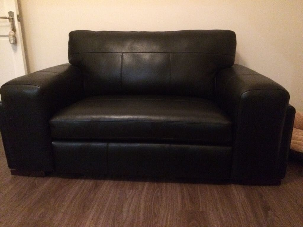 Miraculous Immaculate Arighi Bianchi 2 Seater Black Real Leather Sofa Reduced In Stockport Manchester Gumtree Pdpeps Interior Chair Design Pdpepsorg