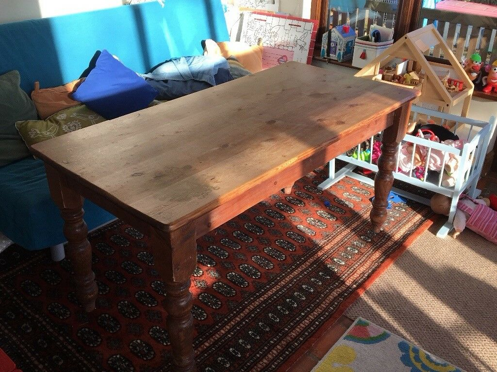 Pine Farmhouse Dining Table