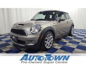 2007 MINI COOPER S LEATHER/SUNROOF/HTD SEATS!