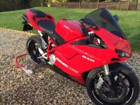 Ducati 848 Akrapovic - Not a mark on it! Stunning!