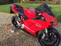 Ducati 848 Akrapovic - Not a mark on it! Stunning!
