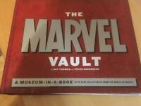 Marvel vault museum in a book.